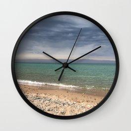 Lake Michigan Shoreline Wall Clock