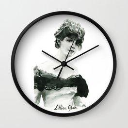 Lillian Gish Wall Clock