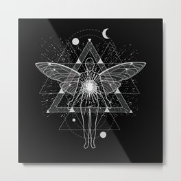 Out of Body Experience Esoteric Metal Print