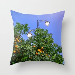 One Night Under The Stars Throw Pillow