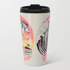 Wolf Beach Travel Mug