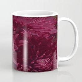Burgundy Chrysanthemums Kaffeebecher