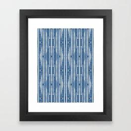 Shibori Tribal #society6 #shibori Framed Art Print