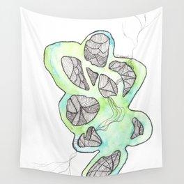Scandi Micron Art Design | 170412 Telomeres Healing 34 Wall Tapestry