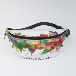 Orlando Florida Skyline Fanny Pack
