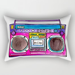 The Boom! Rectangular Pillow