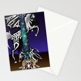 Fusion Keyblade Guitar #186 - Unicornis' Keyblade & Master Xehanort's Keyblade Stationery Cards