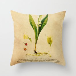 Breaking Bad - Lily of the Valley Throw Pillow