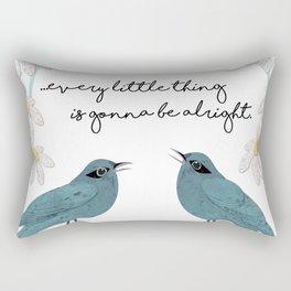 Three Little Birds, Part 2 Rectangular Pillow