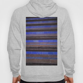 Blue Staircase Hoody