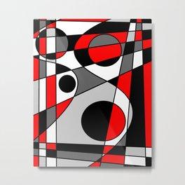 Abstract #73 Metal Print