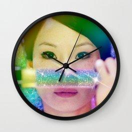 ORen Ishii Rainbow Katana Wall Clock