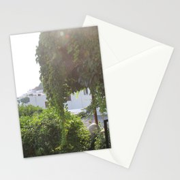 Sunshine in Lindos Stationery Cards