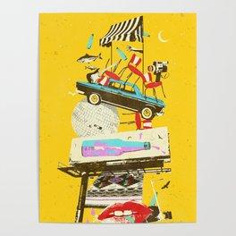 LA PSYCH ADVERT Poster