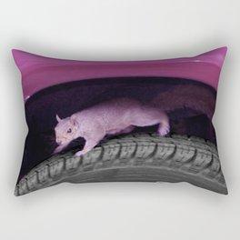 Up & down the wheel I go Rectangular Pillow
