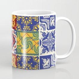 talavera mexican tile/multicolours/ Coffee Mug