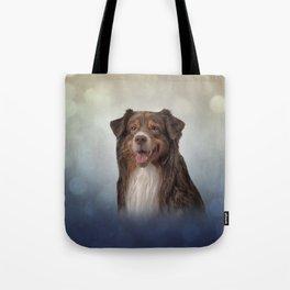 Dog breed Australian Shepherd, Aussie Tote Bag