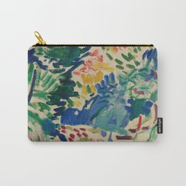 Landscape at Collioure - Henri Matisse - Exhibition Poster Carry-All Pouch