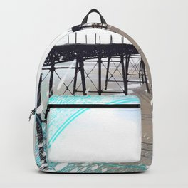 Victorian Pier - paint Backpack
