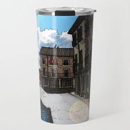 Calle Mayor (color) Travel Mug