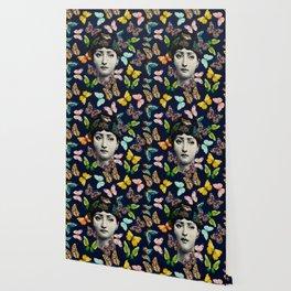 The Butterfly Queen Wallpaper