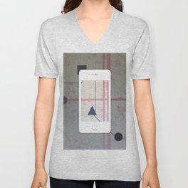 Sum Shape - iPhone graphic Unisex V-Neck