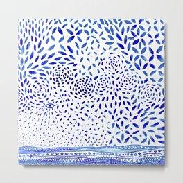 handmade tile Metal Print