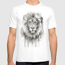Lion Watercolor T-shirt