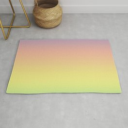 Pastel Colorful Pattern Abstract Rainbow Multi Colored Texture Rug