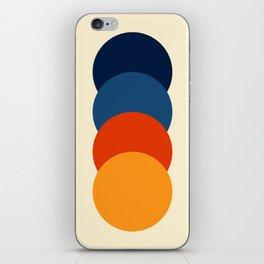 4 Colorful Classic Retro Dots Adsullata iPhone Skin