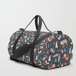 Slothy Holidays Duffle Bag