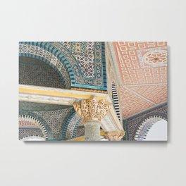 Al Aqsa Mosque, Jerusalem Metal Print