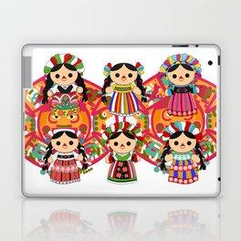 Mexican Dolls Laptop & iPad Skin