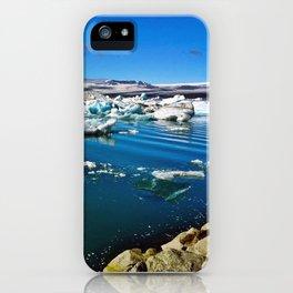 Jökulsárlón Glacier Lagoon (16) iPhone Case