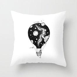 Interstellar Journey Throw Pillow