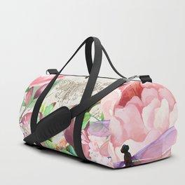 Paris Flower Market III Duffle Bag
