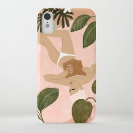 Life Is Better Without Bra iPhone Case