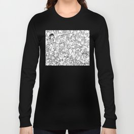 Face'in the hands Long Sleeve T-shirt