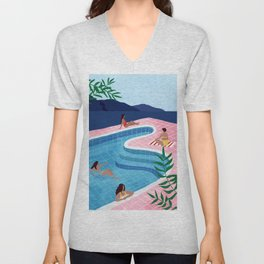 Pool ladies Unisex V-Neck