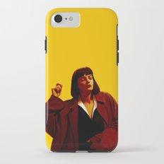 Mia Wallace - Yellow iPhone 7 Tough Case
