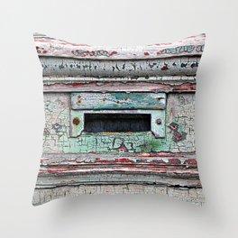 Mail Slot Throw Pillow