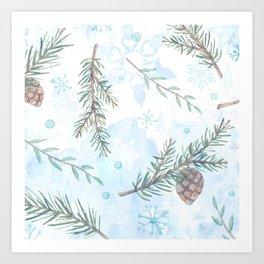 Winter Season 1.0 Art Print