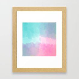 Summer is coming 5 - Unicorn Things Collection Framed Art Print