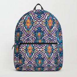 Golestan Palace tile 97 Backpack