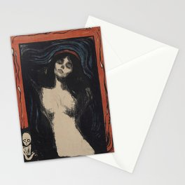 MADONNA - EDVARD MUNCH Stationery Cards
