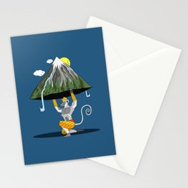 Hanuman & The Mountain Stationery Cards