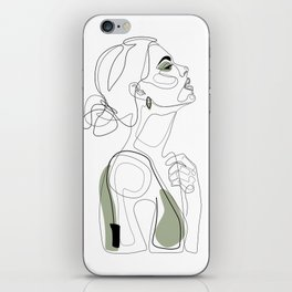 Olive Beauty iPhone Skin