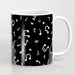 Music Notes and Symbols  Coffee Mug