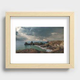 Kynance Cove, Cornwall Recessed Framed Print