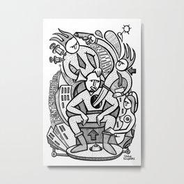 Reservoir Gods - PopCore 14 Metal Print